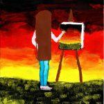 1. místo Nathaly, 12 let Chce být malířkou